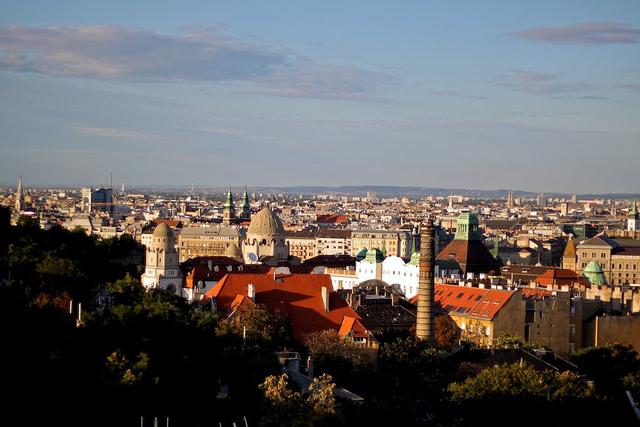 The Best of Budapest: The View from Hostel Hill