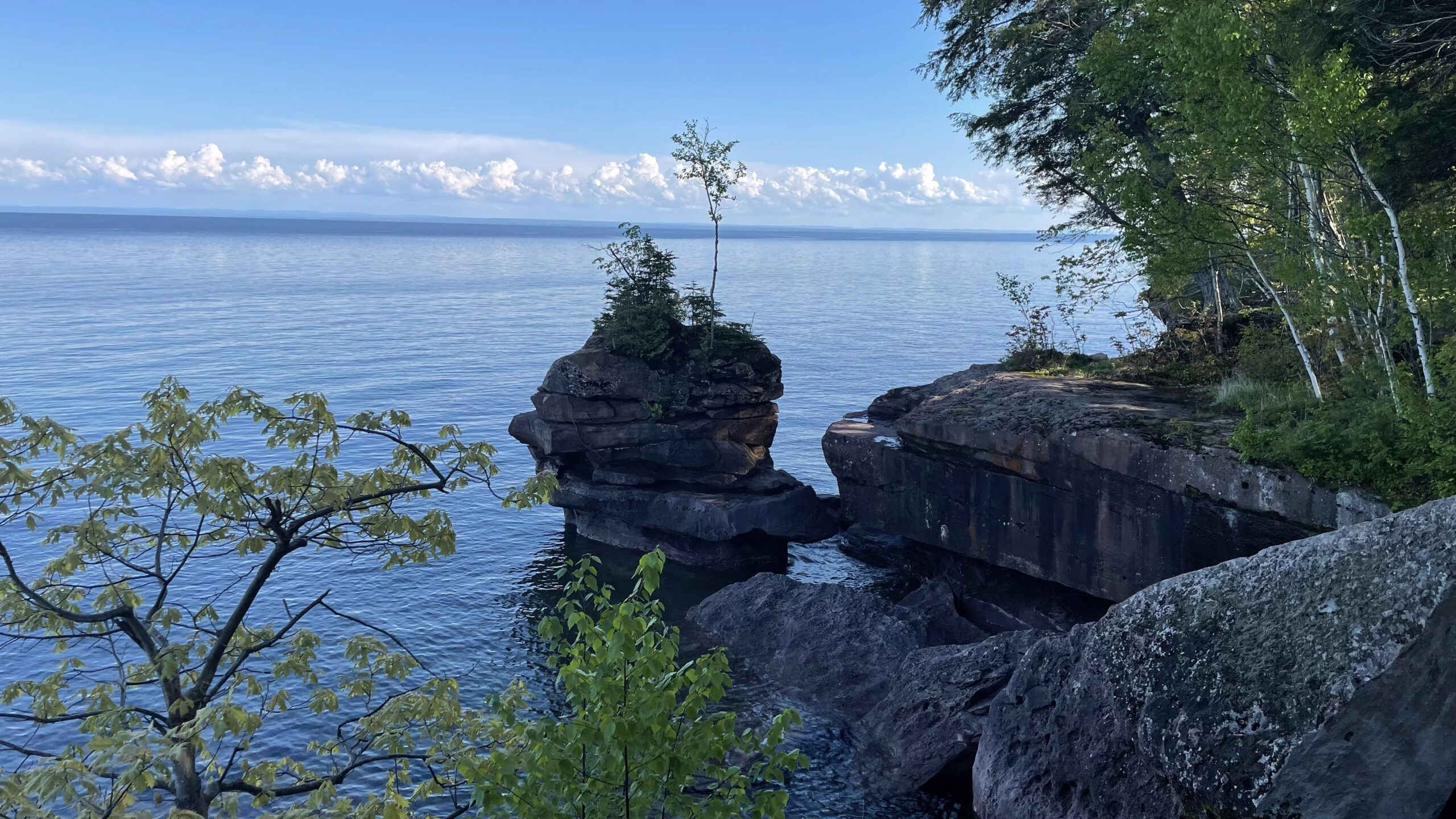 Memorial Day Weekend 2021: Porcupine Mountains and Madeline Island